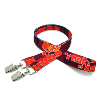 No Twist full colour print lanyard