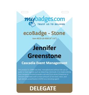 lime stone eco eventbadge