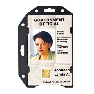 Shielded Badge Holders