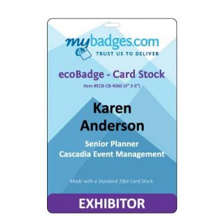 Eco Friendly EventBadges